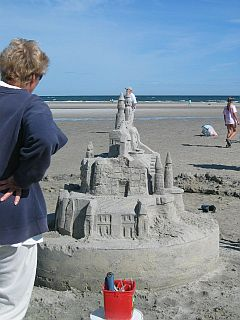 Mayflower Sandcastle Contest